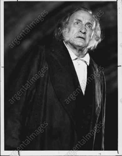 1984 George C Scott Actor A Christmas Carol Scrooge Press Photo 12