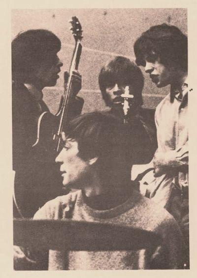 Bill Wyman, Charlie Watts, Brian Jones, and Mick Jagger