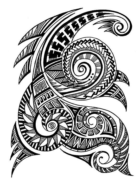 Maori Art Art Print By Art 'n' Soul