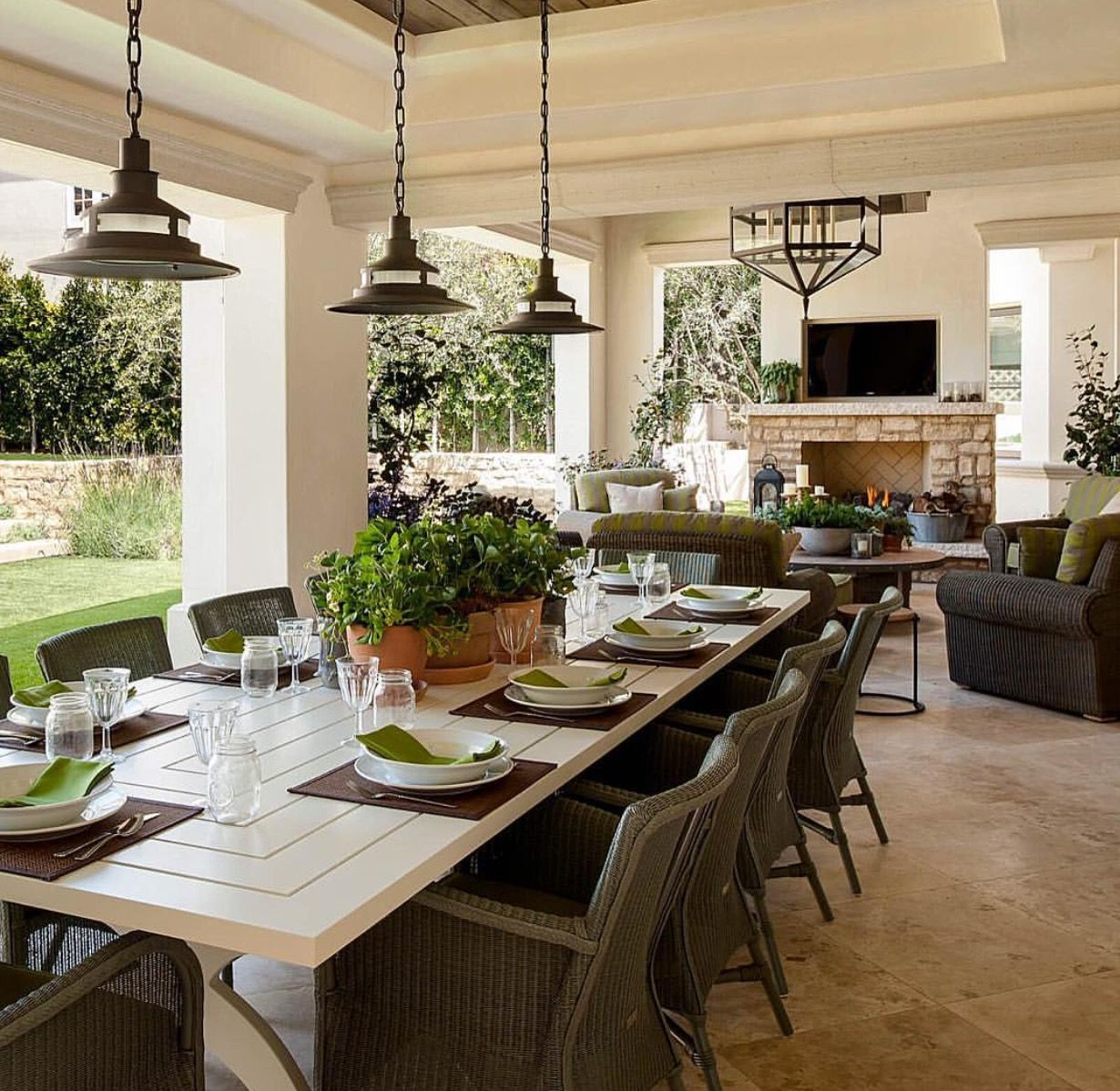 favorite for downstairs outdoor dining room austin stone fireplace outdoor dining room on outdoor kitchen and living space id=25989
