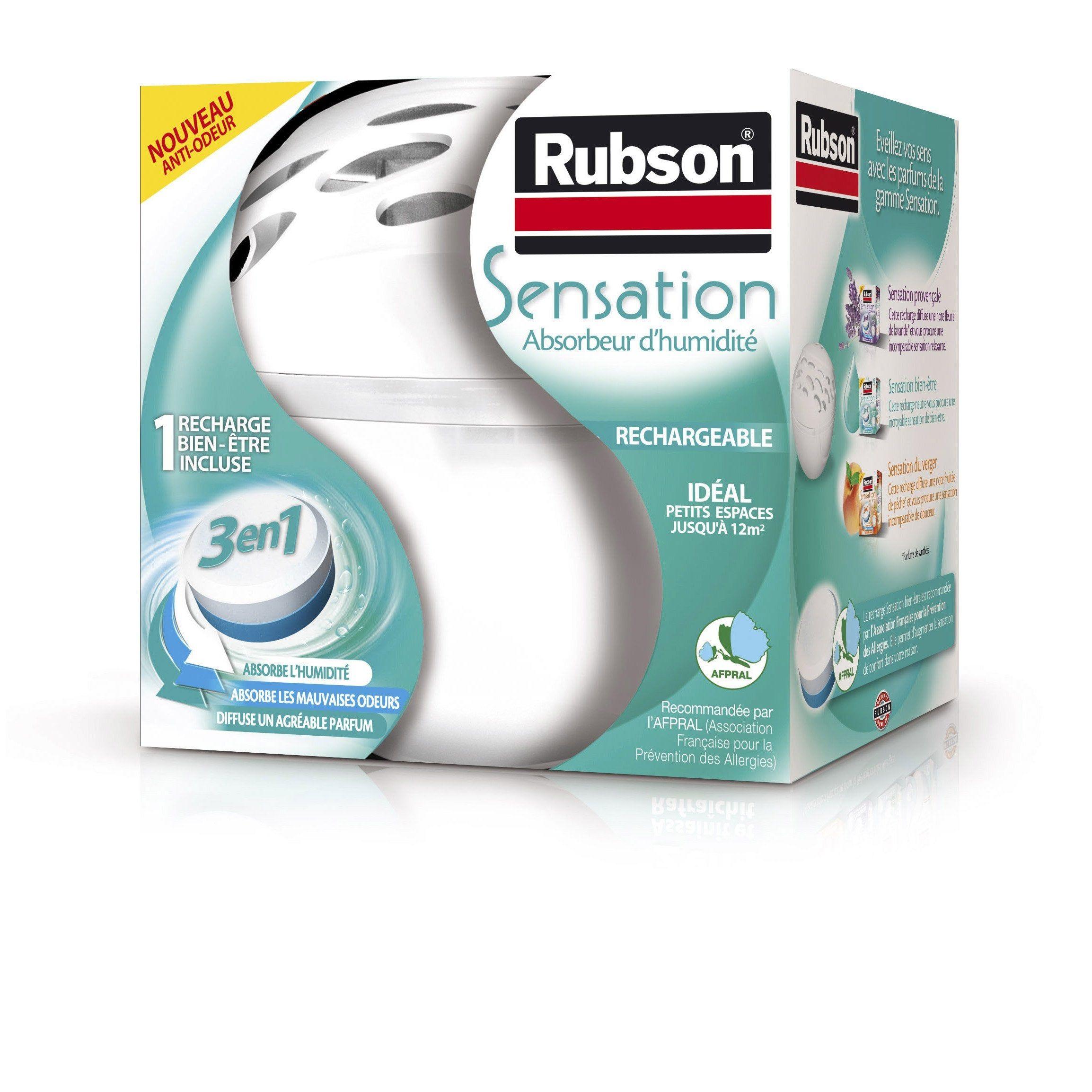 Rubson 3 En 1 Absorbeur D Humidite Avec Une Recharge 12 M Absorbeur D Humidite Castorama Mauvaise Odeur