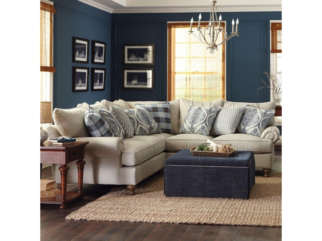 Charmant Southern Farmhouse Sectional By Craftmaster. Get Your Southern Farmhouse  Sectional At Plantation Furniture, Richmond TX Furniture Store.