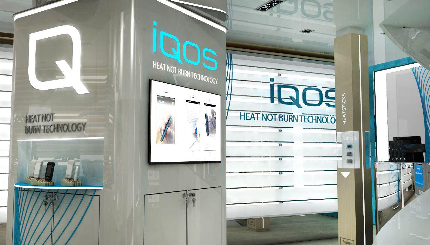 IQOS Flagship Store - Phillip MorrisCriatividade e concepção