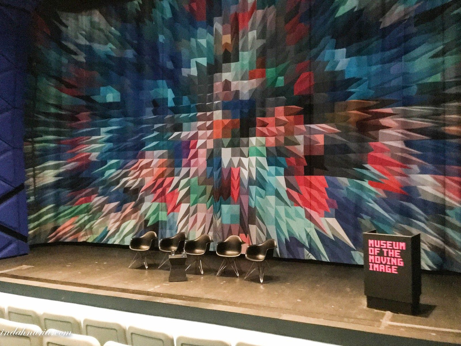 museum of moving image - auditorium