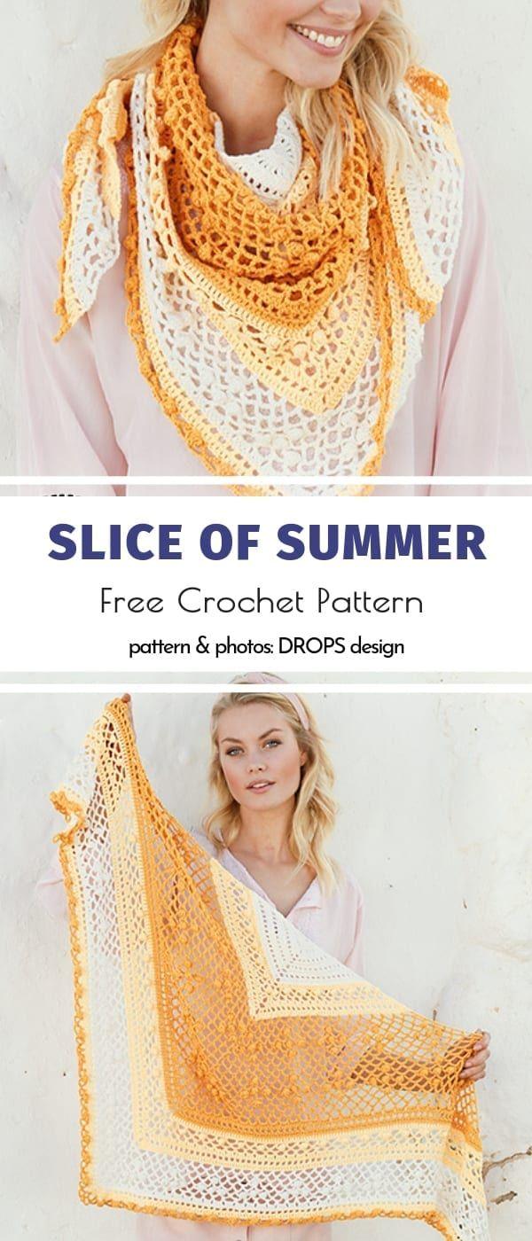 Beautiful Crochet Shawls Free Patterns
