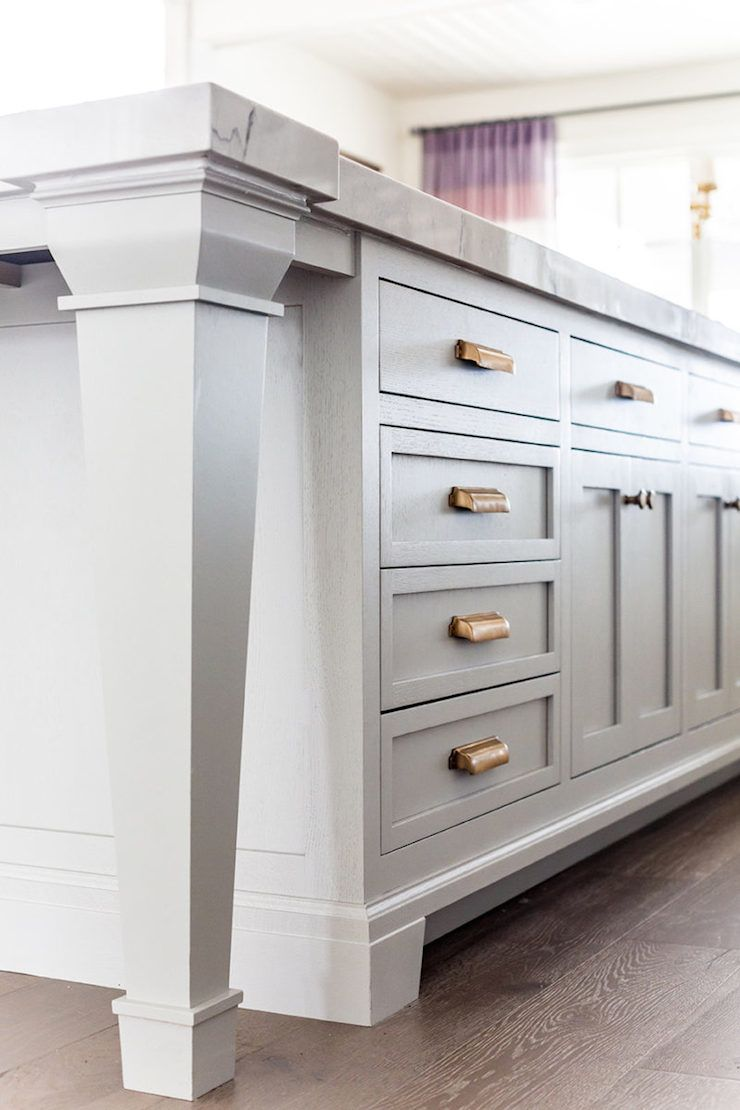 Best White Grey And Gold Kitchen Ivory Lane 6 Traditional 400 x 300