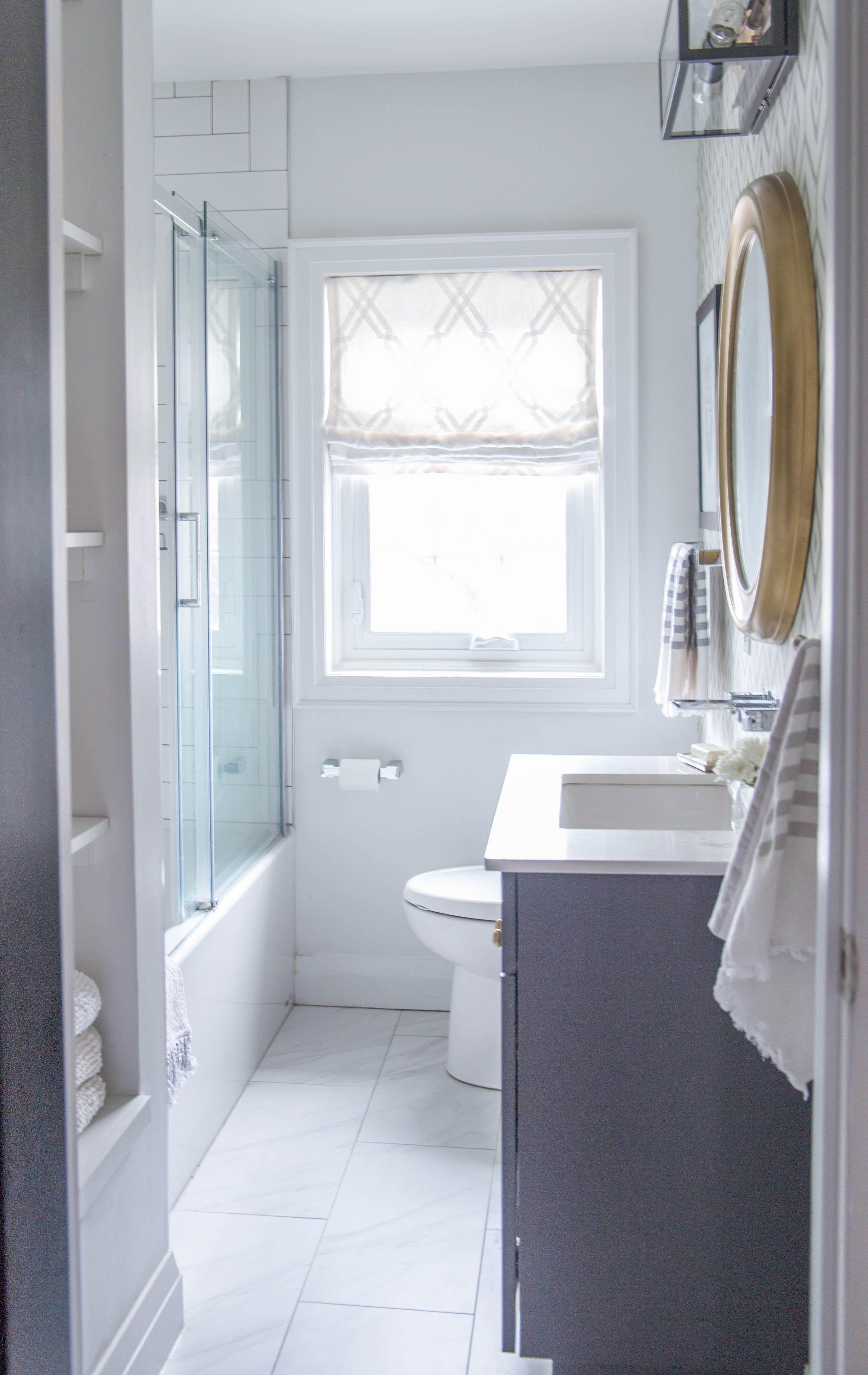 Property Brothers Bathroom Reveal By Karin Bennett Designs Bathroom Brightwhite Clean Sim Bathrooms Remodel Bathroom Remodel Master Small Bathroom Remodel