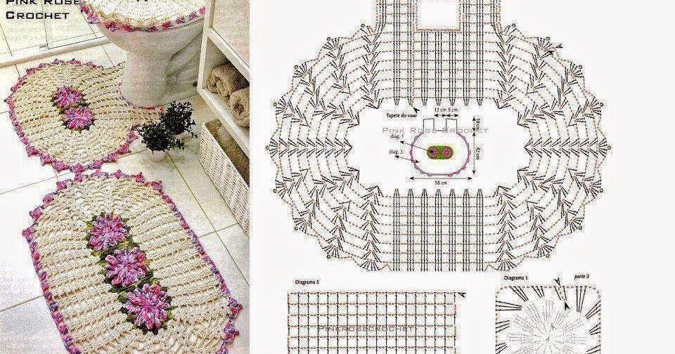 Todo crochet | Pinterest | Parte central, Patrones para tejer y Inodoro