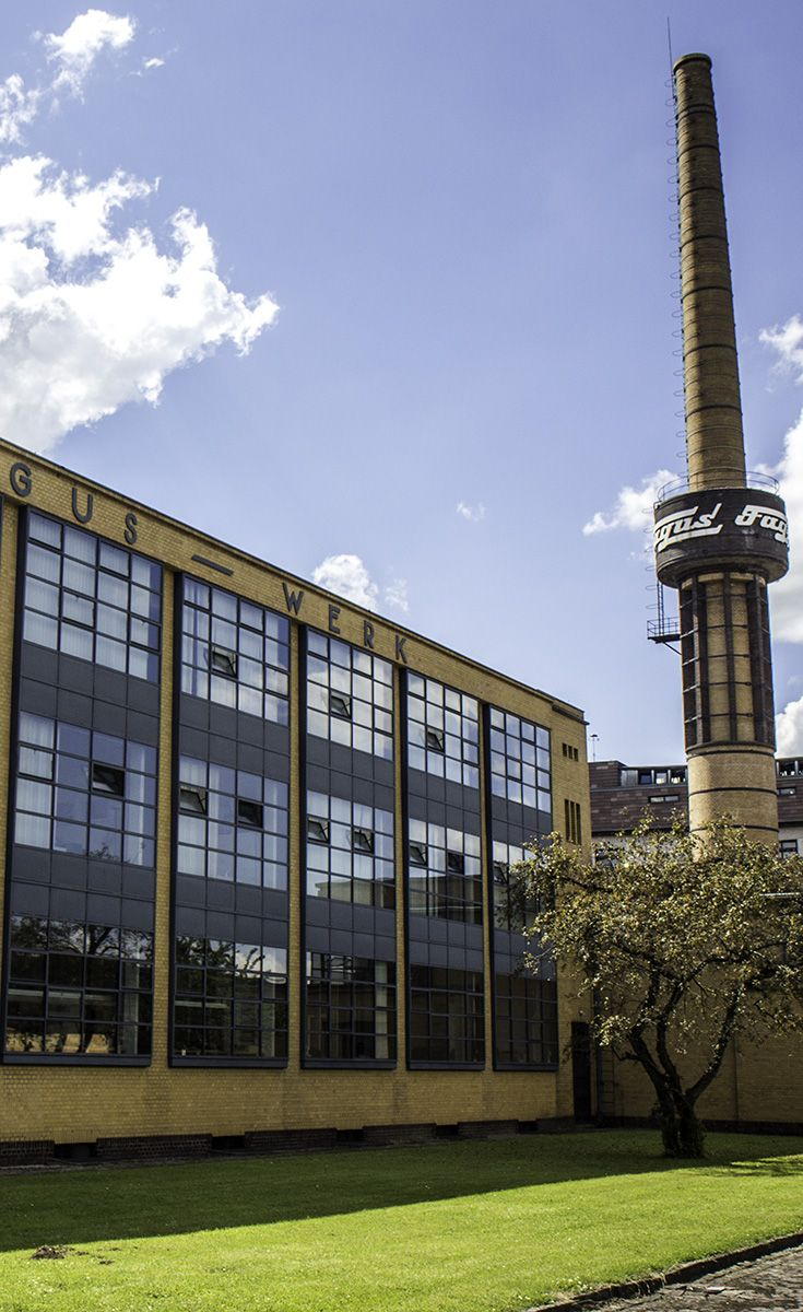 Fagus Factory in Alfeld, Germany. It's just a small building but it had a huge impact on architecture for decades (and still today!) *Click through to see more photos*