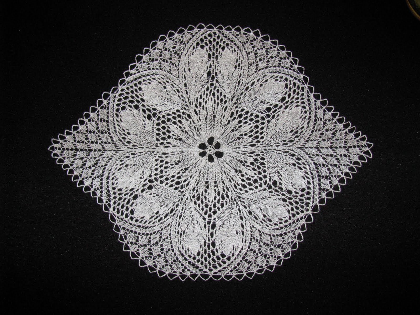 OceanKnitter: Distraction | Doily patterns, Lace knitting ...