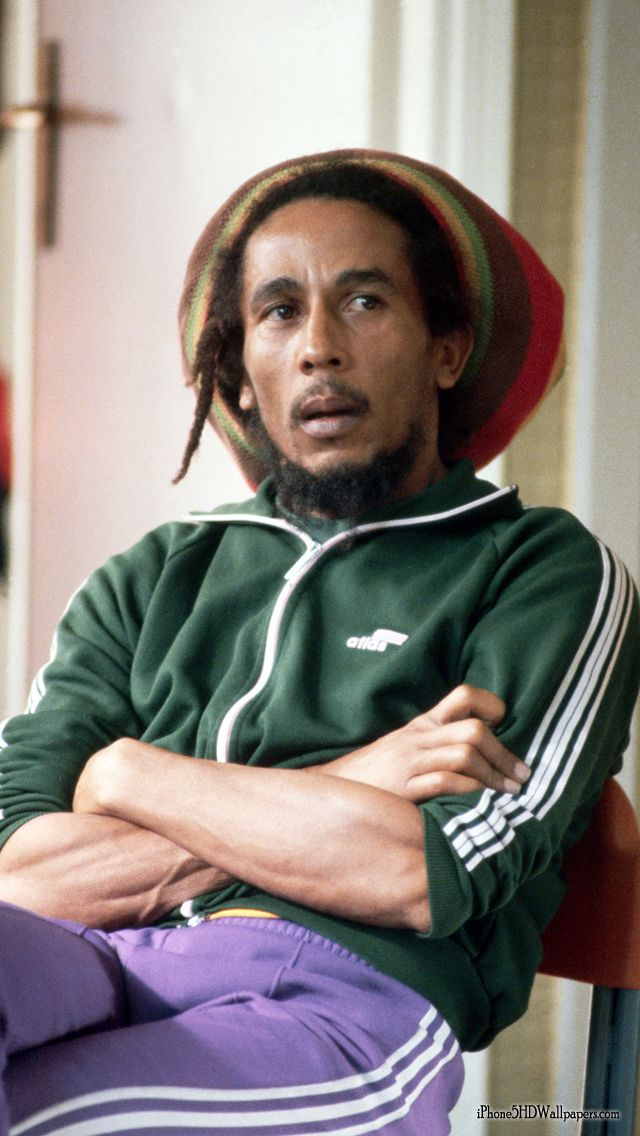 Bob Marley iPhone Wallpaper Bob marley pictures, Bob