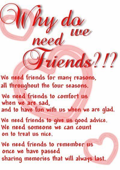 What Are Good Friends For? A Longer Life! | True friendship quotes ...