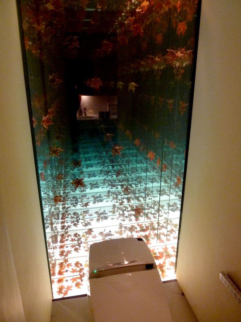 Infinity Mirror Design Technique For Accent Wall At Morimoto NYC