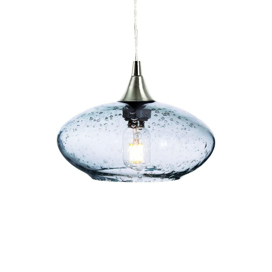Recycled Glass Globe Light Glass Pendant Light Kitchen Pendant Lighting Lights