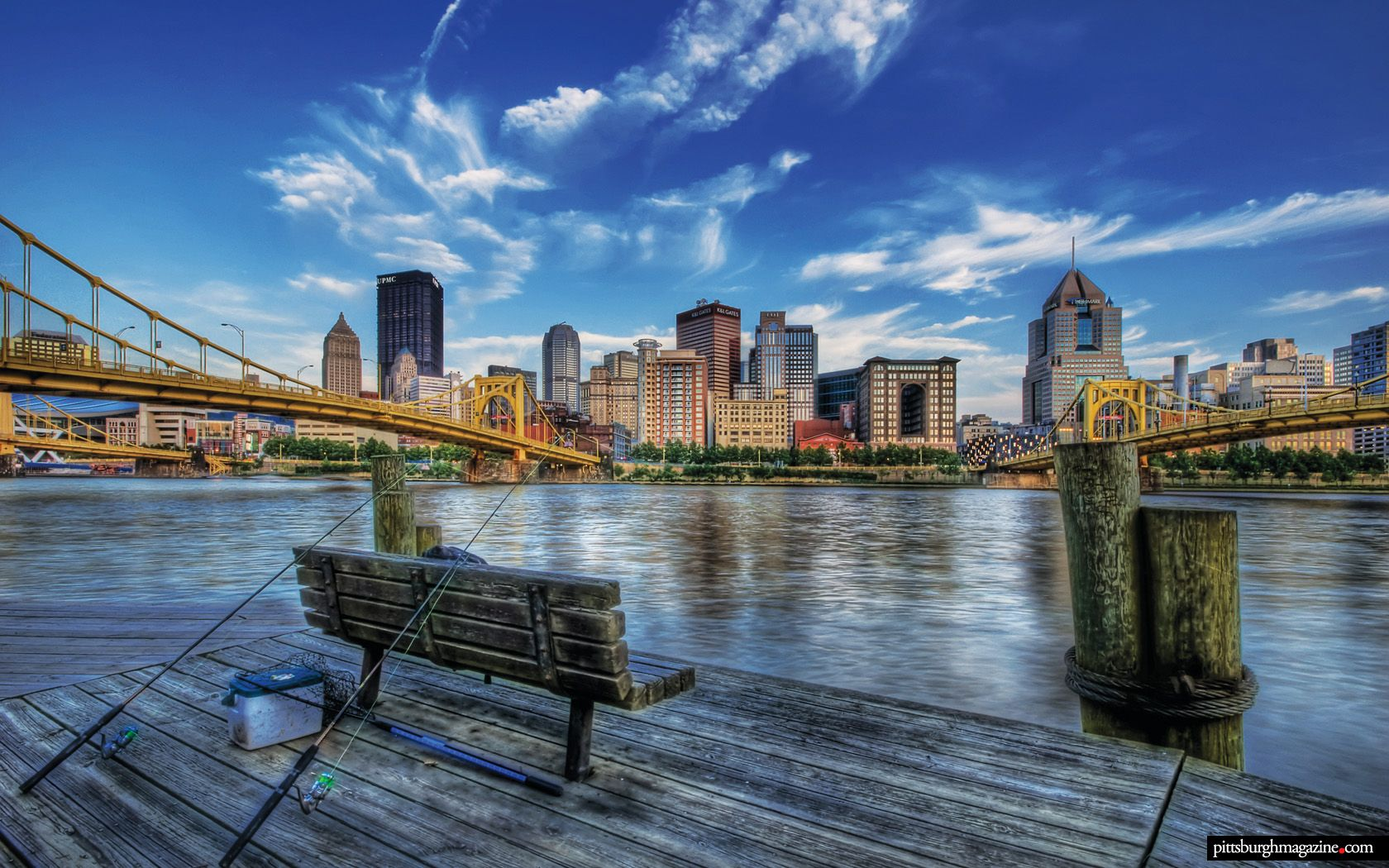Pittsburgh Desktop Wallpaper Skyline: We're On Pinterest! Be Our Pal And Get The Best Of