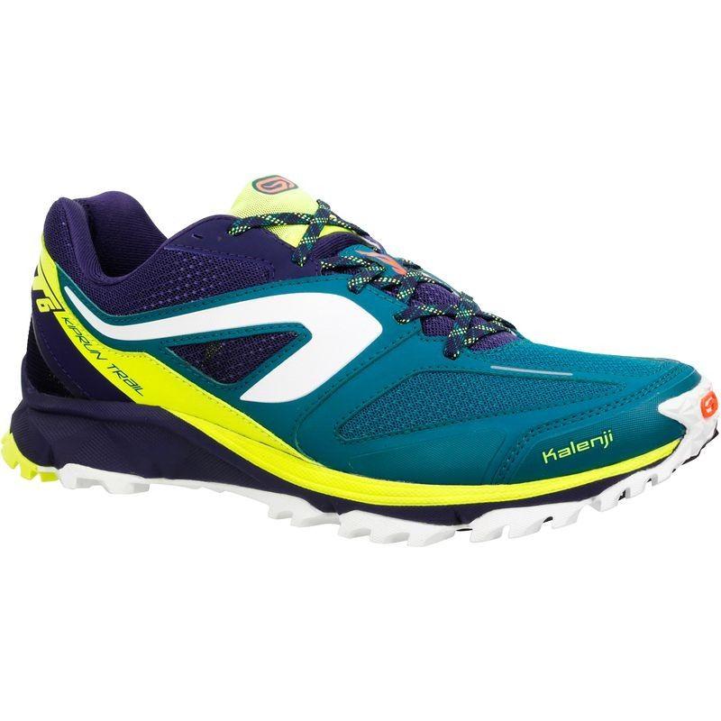 KALENJI Kiprun Trail XT6 Men's Trail Running Shoes Blue