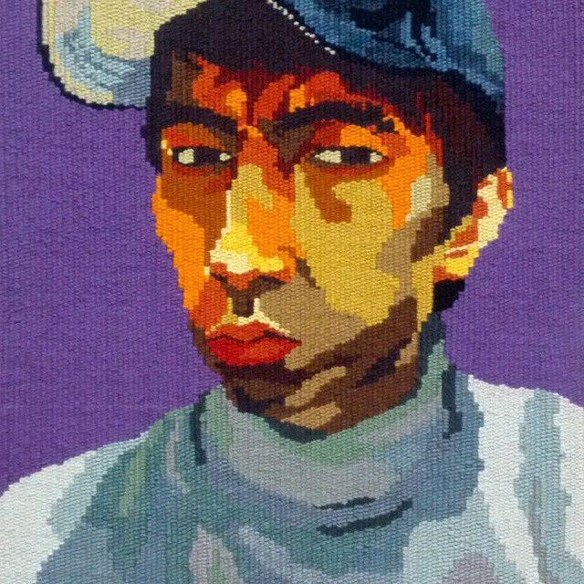 #tapestry #portrait #weaving #painting#picture #돛자리그림#태피스트리#타피#직조#핸드메이드#그래픽 #초상화 #인물화 #그림 #취준생 #20대 #청춘