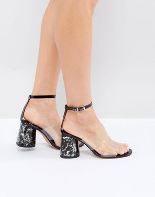 e9401ff65e6 ASOS THUNDER Minimal Sandals