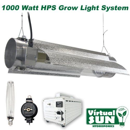 Virtual Sun Vs1000trms Hps 1000watt Cool Tube Grow Light System Click Image For More Details Grow Lights Best Grow Lights Best Led Grow Lights