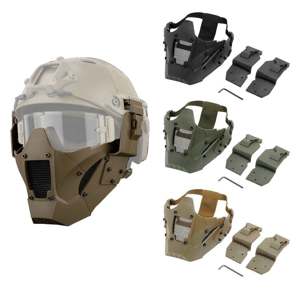 Adjustable Airsoft Helmet Paintball Multi-function Military Tactical Protection
