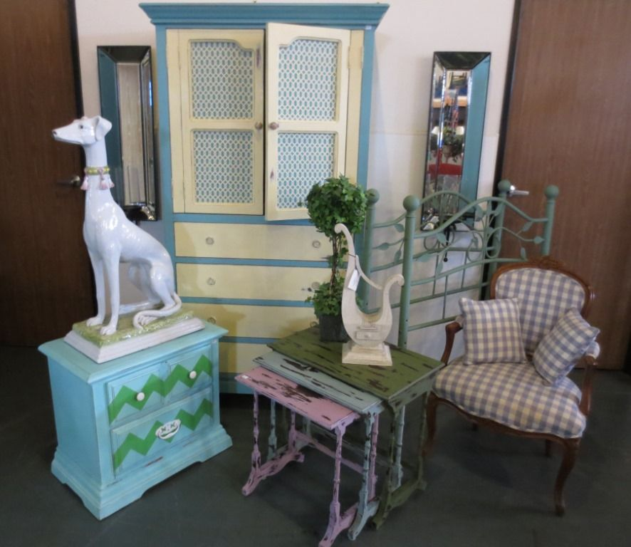 Wonderful Painted Furniture At The Furnishing Hope Warehouse! Please Stop  By Our Warehouse Tomorrow,