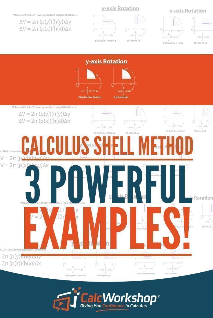 How to use the shell method with 3 powerful examples calculus how to use the shell method with 3 powerful examples calculus and ap calculus publicscrutiny Choice Image