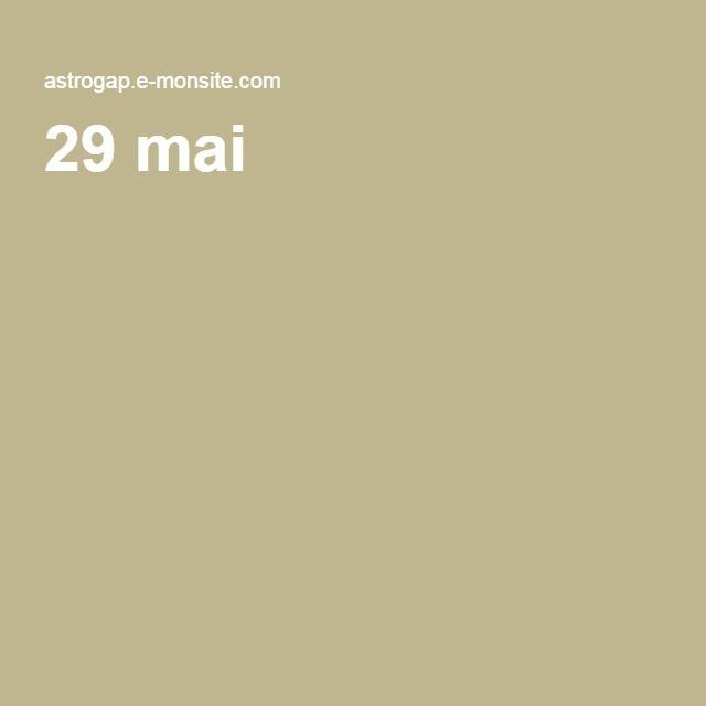 29 mai