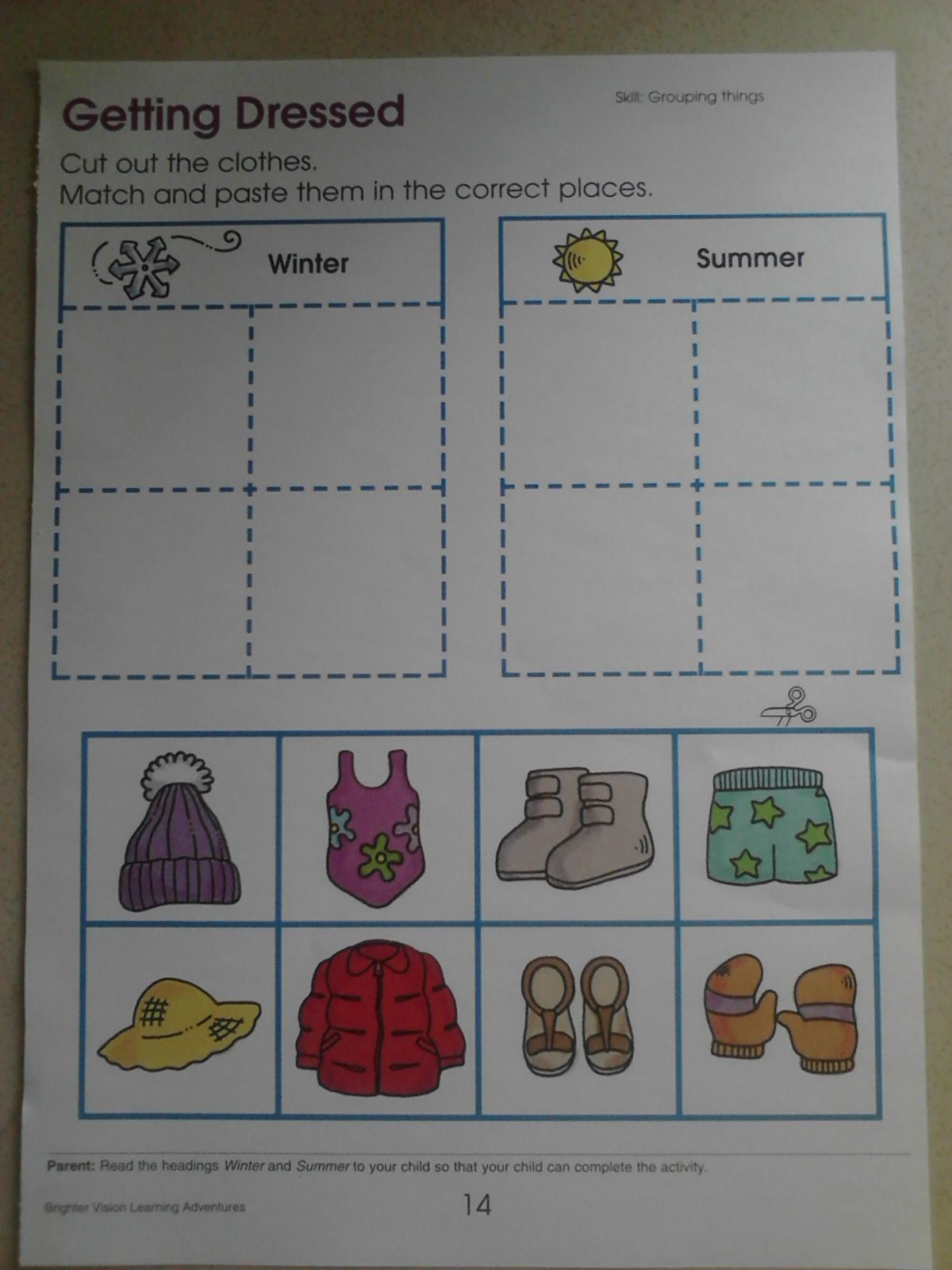 Blog Entry Showing How To Turn A Worksheet Into An