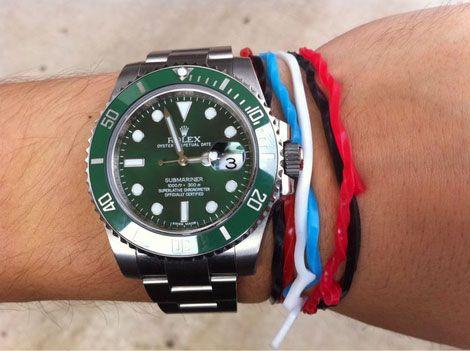 rolex , submariner green .... still high on my wishlist for 50th birthday