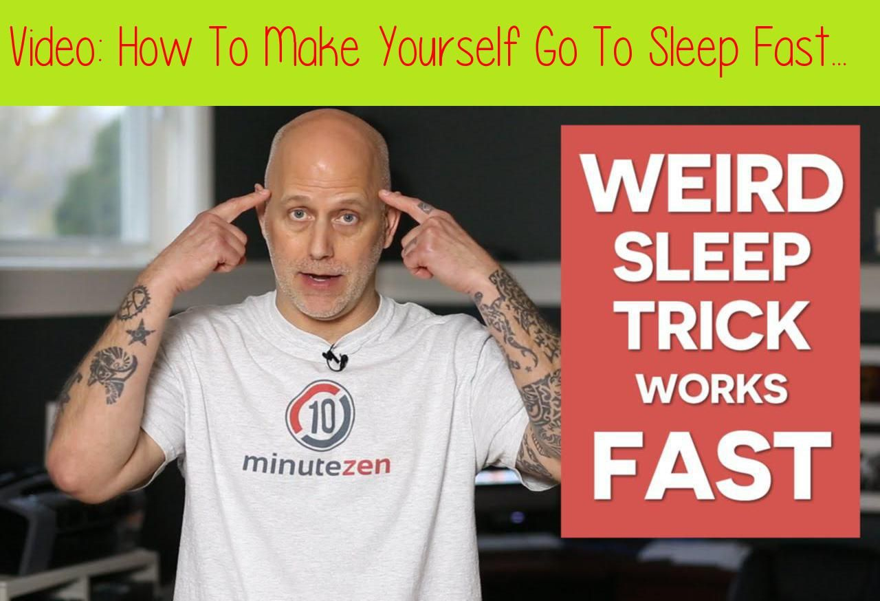 How To Make Yourself Go To Sleep Fast How to sleep