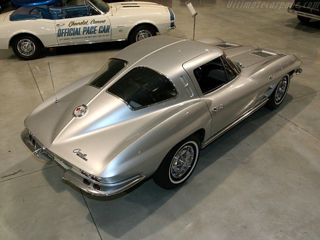 1963 Chevy Corvette. Chevy only made this split window for only one ...