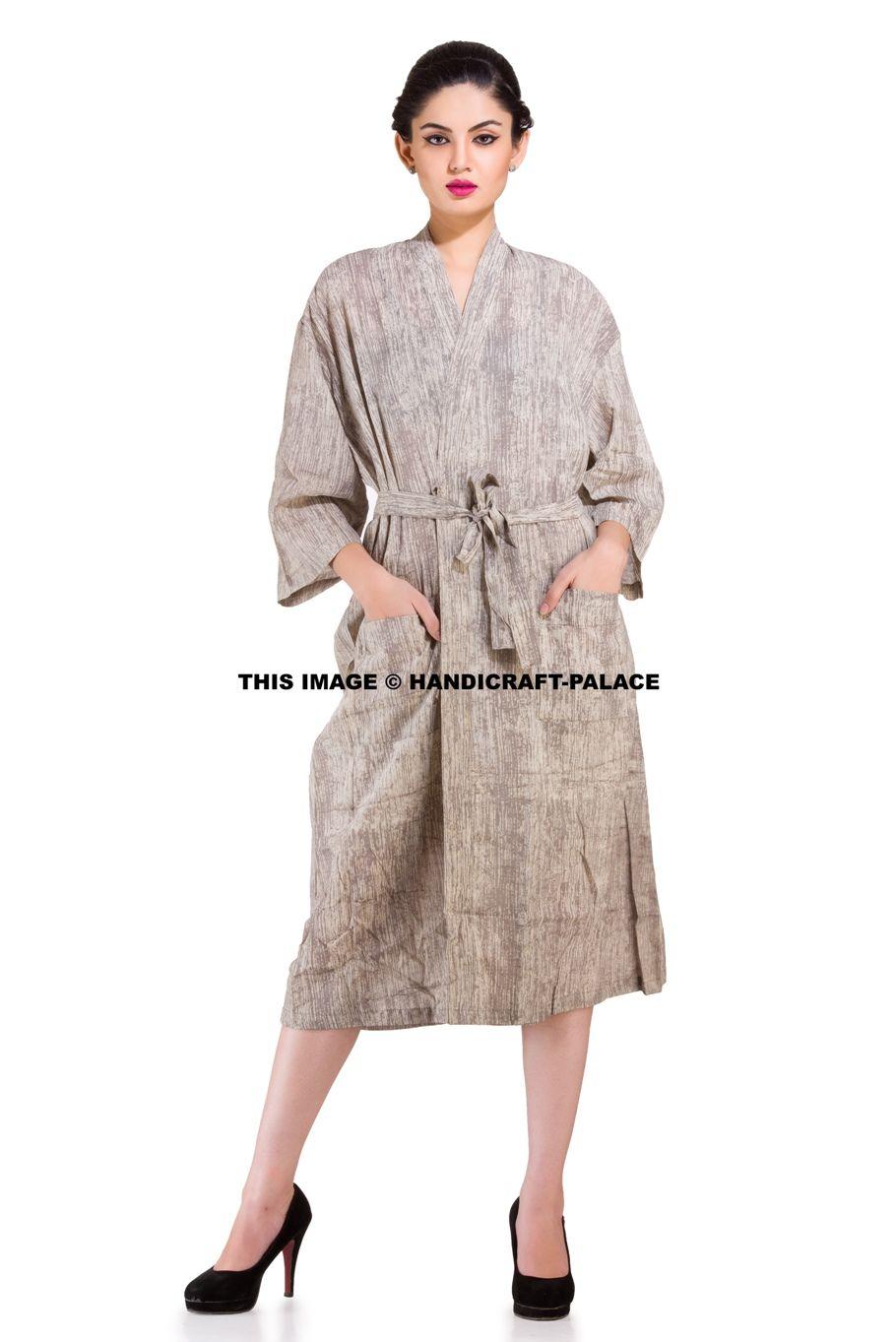 31e32add77 INDIAN Ethnic Cotton Bath Robe Kimono  bathrobe  kimono  gown  daygown   floral