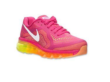 Nike Air Max 2014 Womens Vivid Pink White Atomic Mango Volt #Lovely #pink #