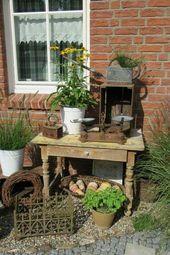Photo of Shabby garden – main decoration – My Blog Shabby garden main decoration …