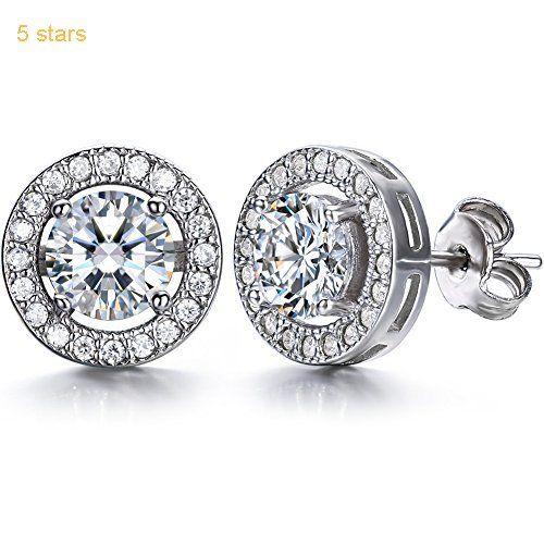 J.SHINE 925 Sterling Silver Jewellery Set Women Stud Earrings 18 yKQPM
