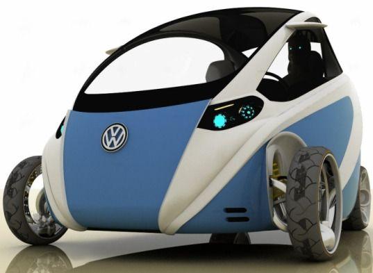 Vw The Bug Urban Electric Concept Mini Car