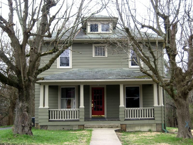American Foursquare Sears Modern Homes House With Porch Front Porch Design Four Square Homes
