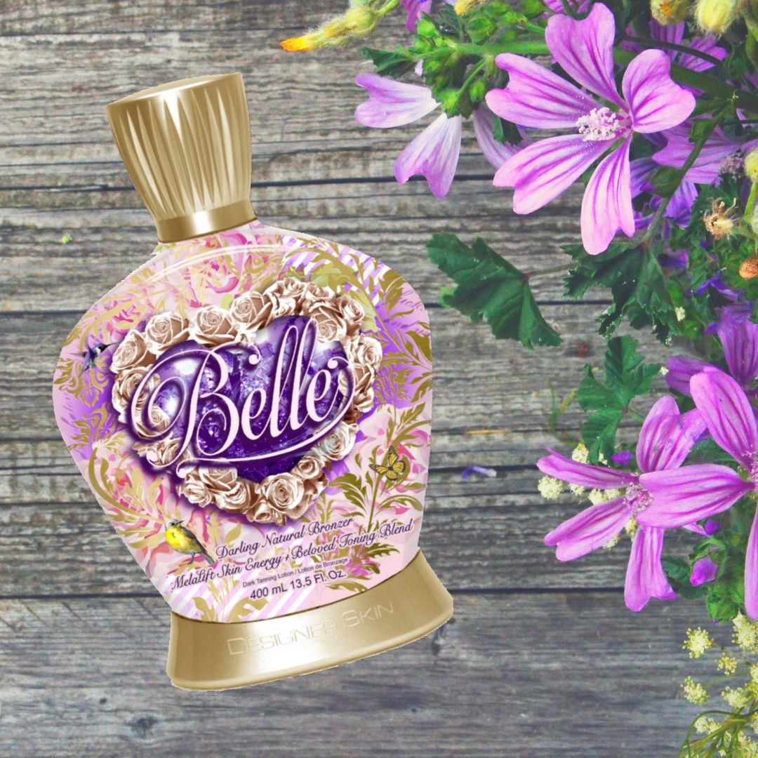 Did you know that Belle is a Natural Bronzer that was made