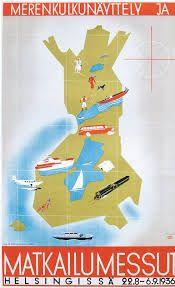 Merenkulkunäyttely ja matkailumessut Helsingissä 1936