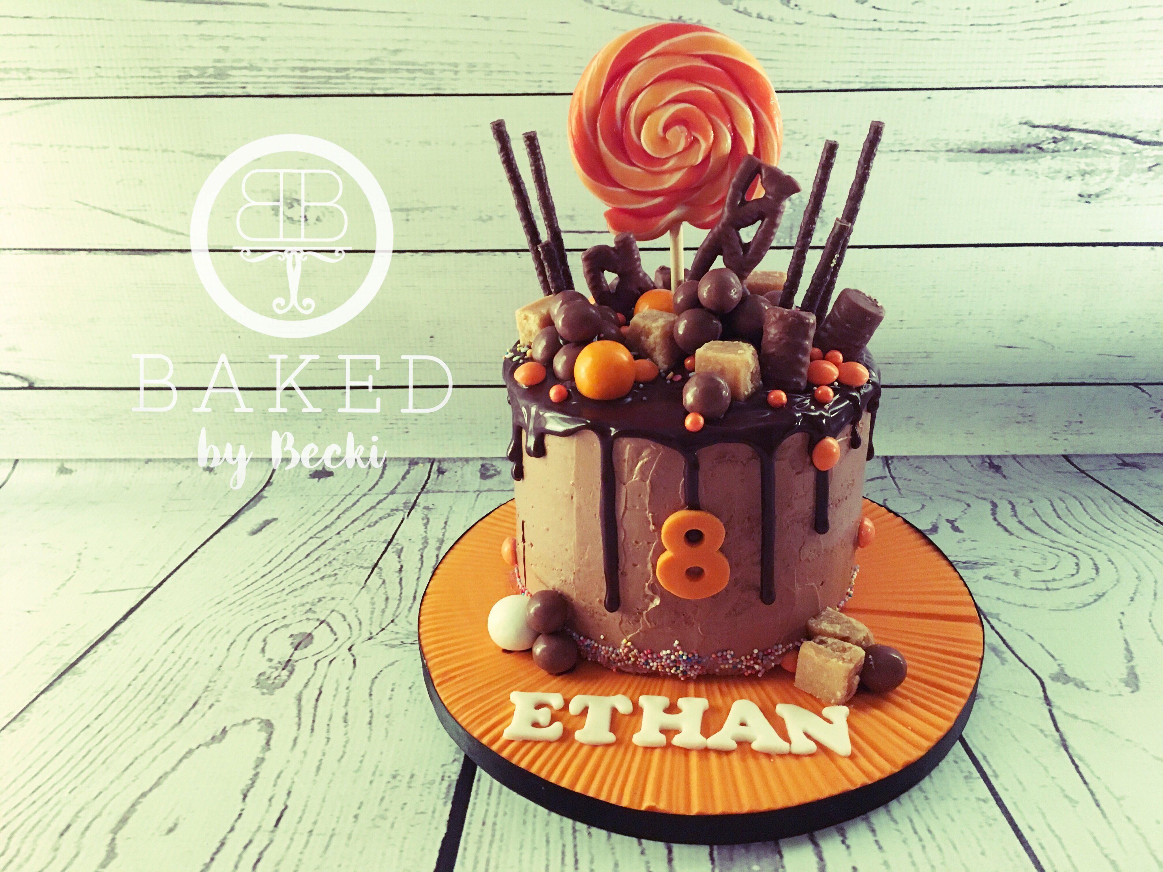 Chocolate orange drip cake cake drip cakes baking