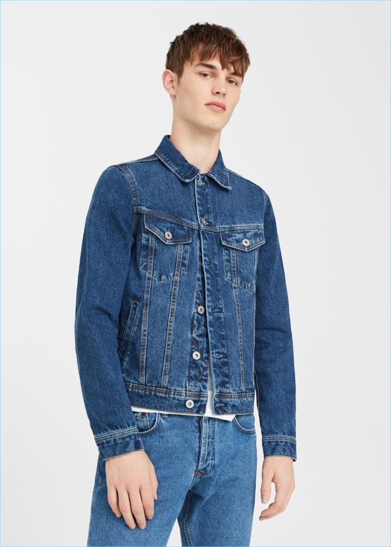 c8803c7ce5 Mango Man Dark Wash Denim Jacket  27.99 Pick up an everyday essential with  Mango Man s dark wash denim jacket.