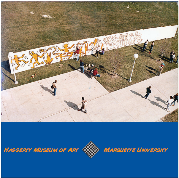 In 1983 Keith Haring Came To Campus To Paint A Mural On The Fence