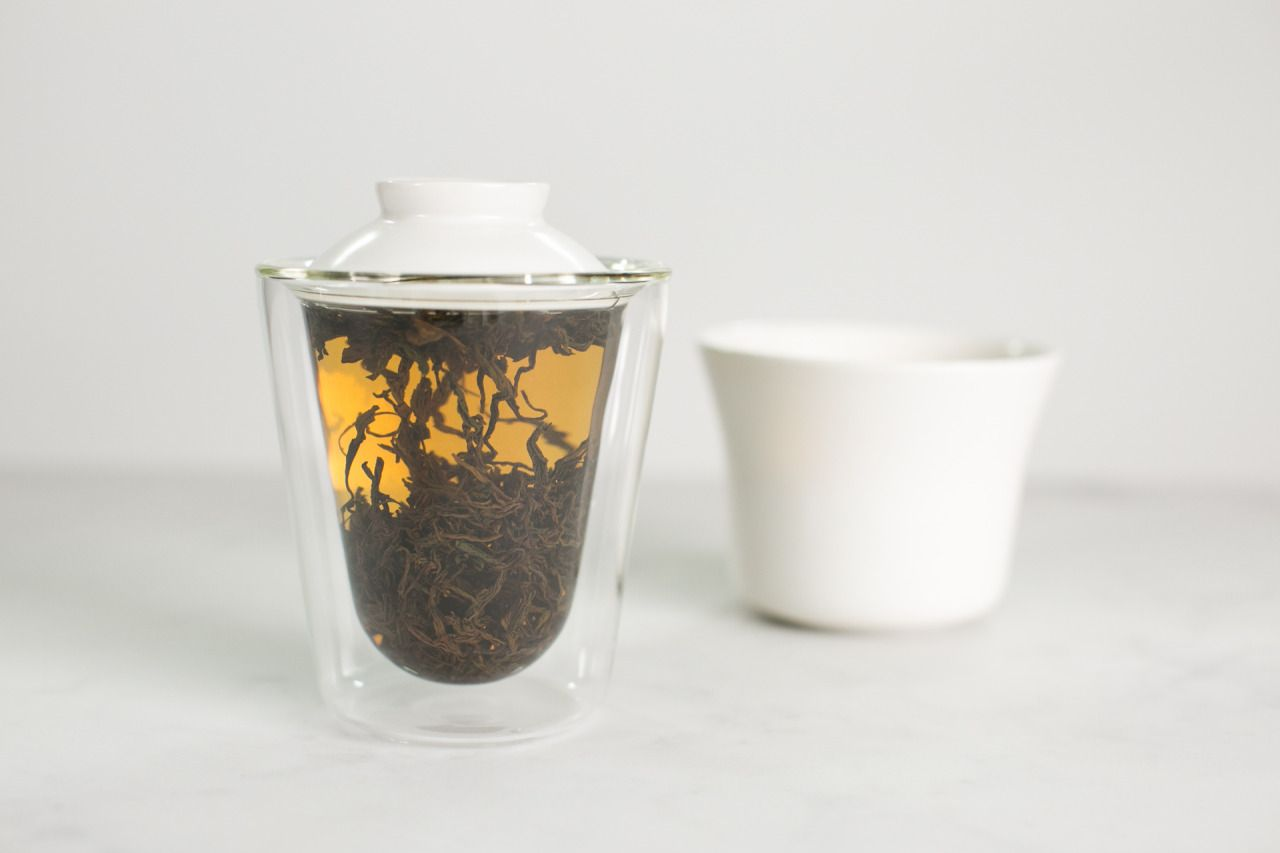 The Manual Tea Maker Nº1, which just launched today on Kickstarter. A sublime, minimalist take on the gaiwan.