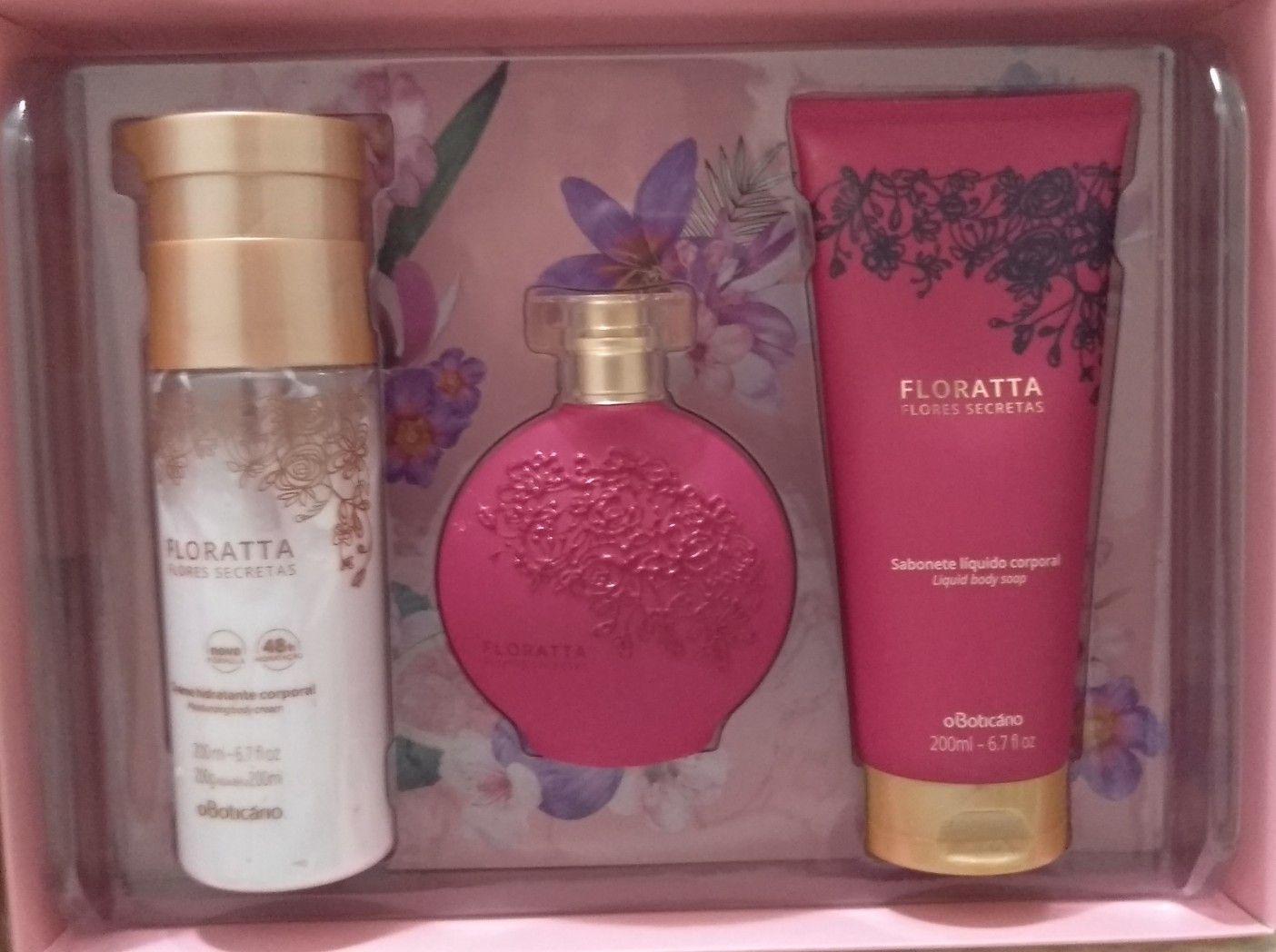 Kit Floratta Flores Secretas O Boticario Perfumaria E Cosmeticos Floratta Boticario Boticario