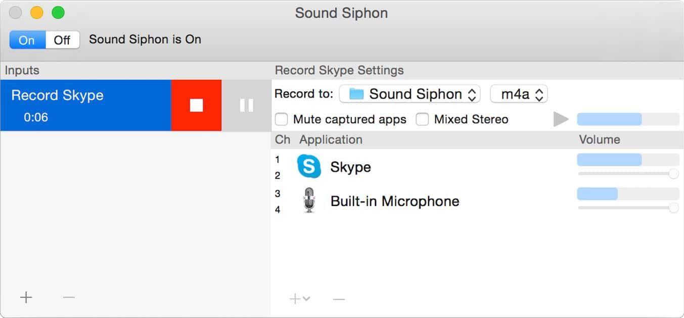 Soundsiphon Como Configurar El Audio En Tu Mac Entradas Y Salidas Y Gestionar Así El Sonido Para Programas De Grabación Etc Easily Captu App Sound Software