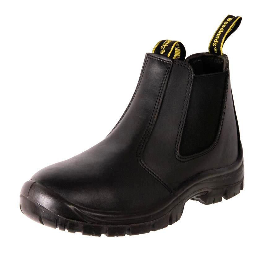 Safety boot handyman black | Mens work shoes, Leather and Australia