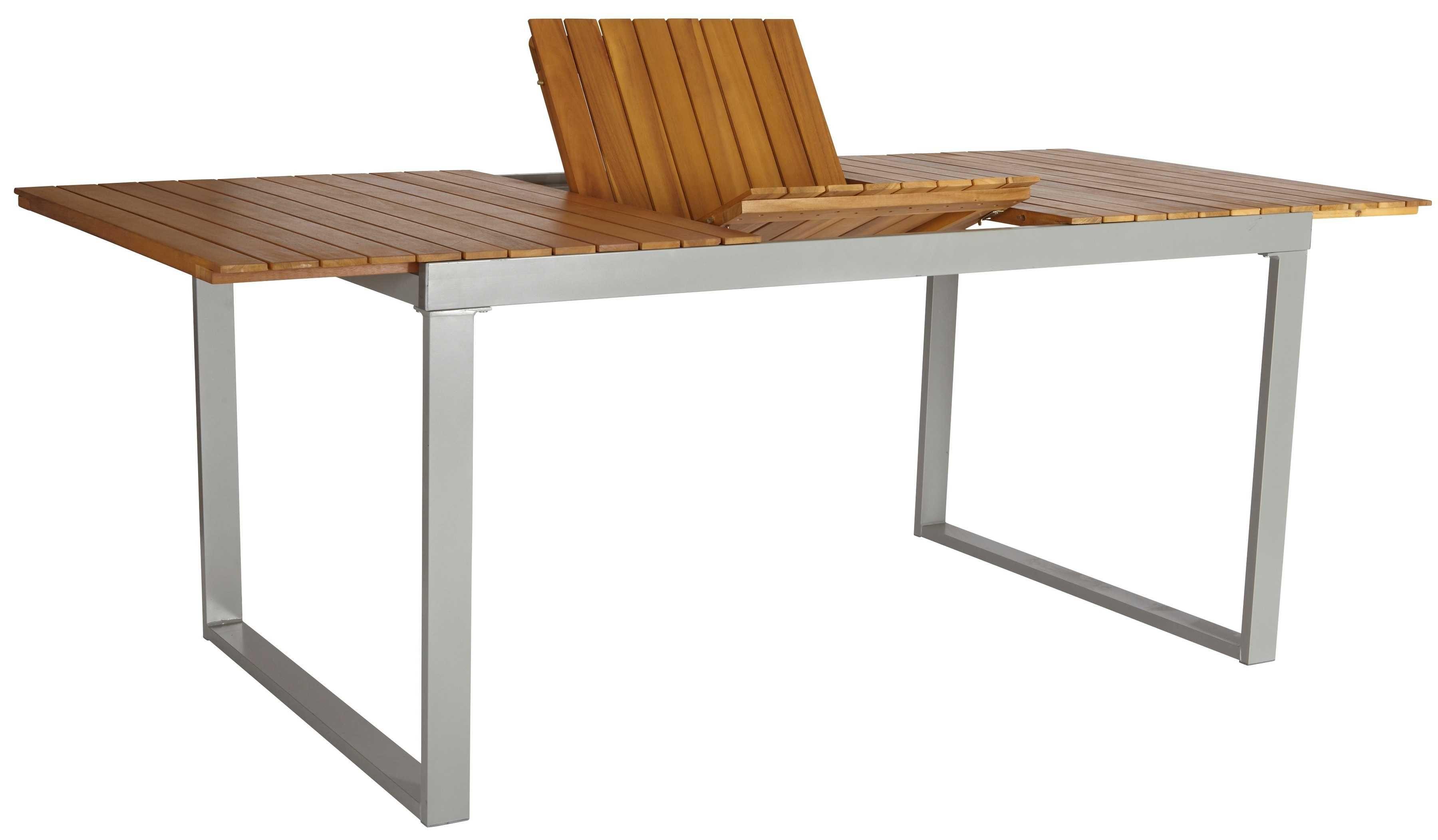 MERXX Gartentisch »Monaco«, Alu/Akazienholz, ausziehbar