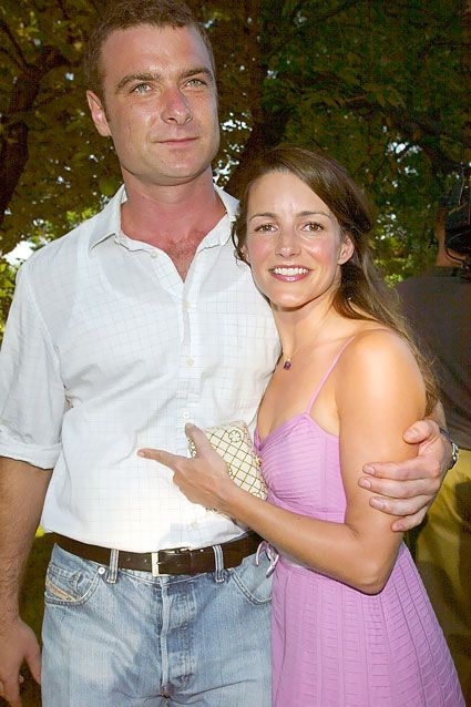 Liev Schreiber dated Kristin Davis in 2003, and though the two were tight-lipped about their romance, they did pose for pictures together like this 2003 snapshot at Shakespeare In The Park in NYC. These days, Davis is recently single after splitting with writer Aaron Sorkin, while Schreiber remains in a long-term relationship with Naomi Watts. Check out more celebrity couples that managed to stay under the radar.