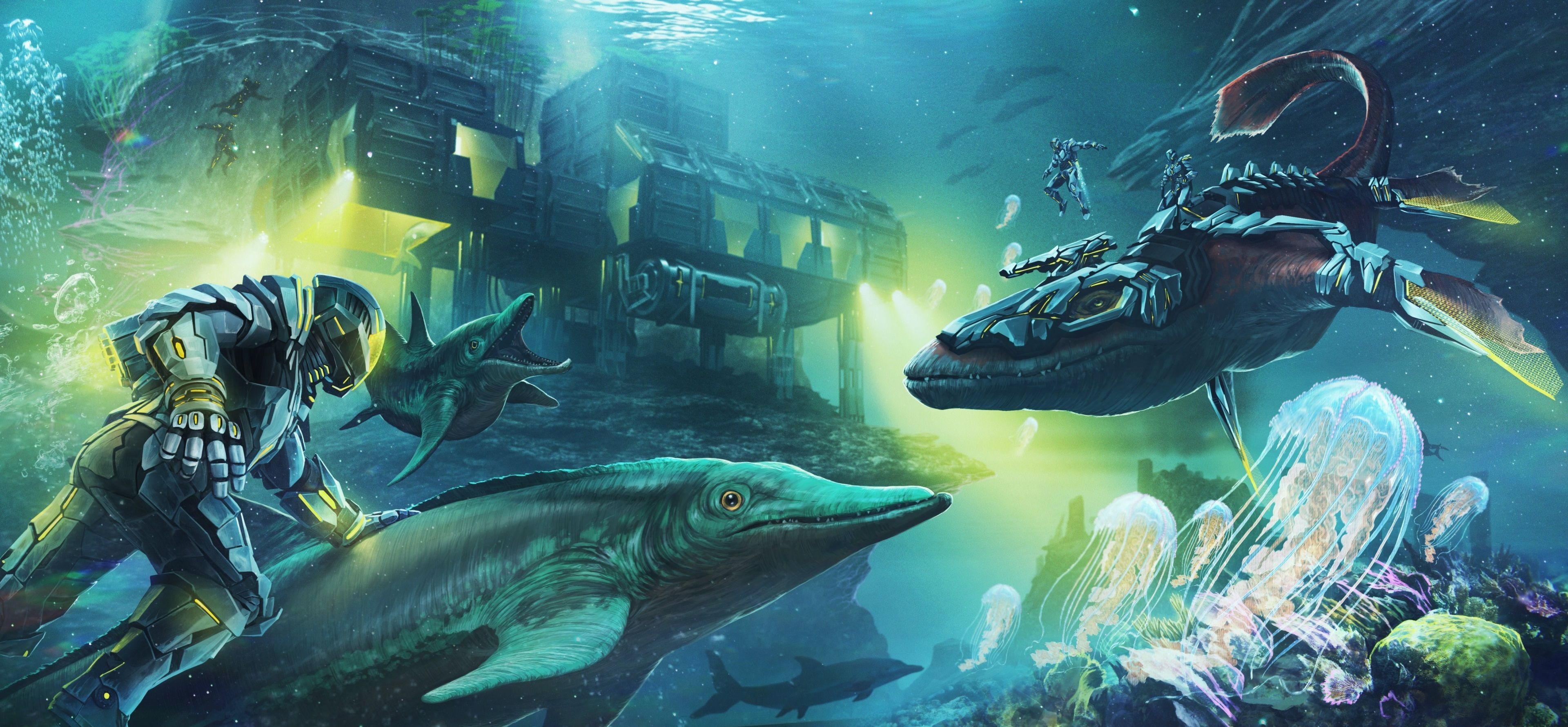 3840x1780 Ark Survival Evolved 4k Windows Background