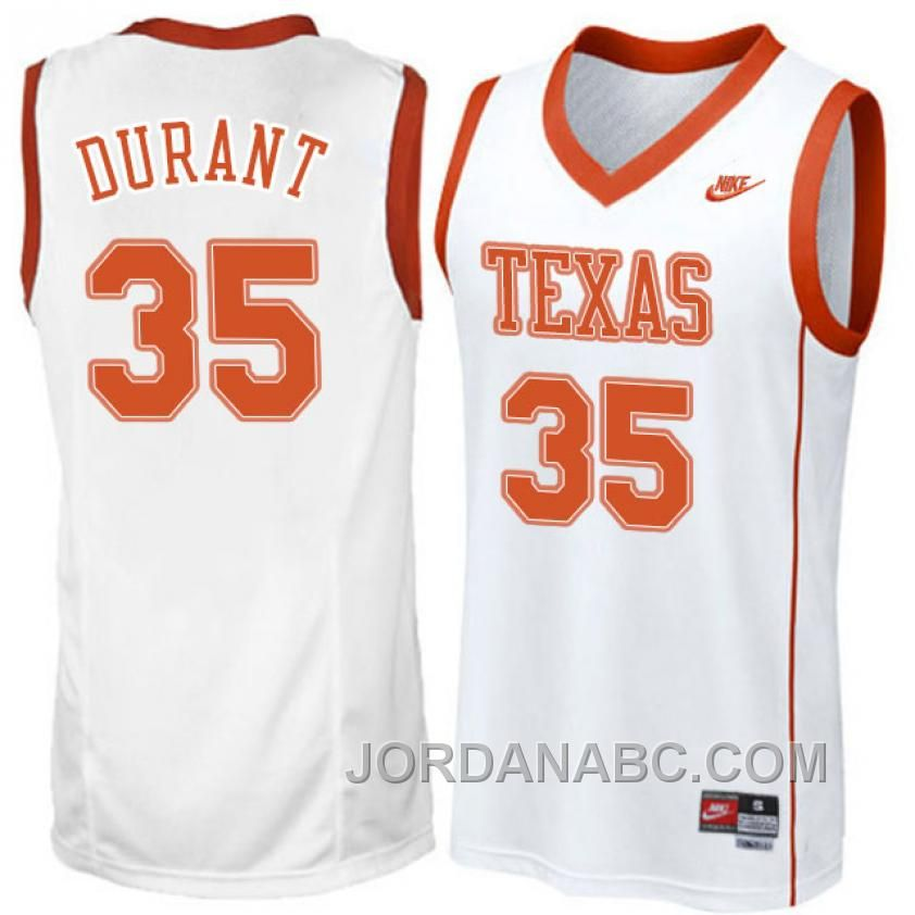 ae74633503e3 ... Buy Kevin Durant NCAA Texas Longhorns White Basketball Jersey For Sale  from Reliable Kevin Durant NCAA NCAA Texas Longhorns 35 Kevin Durant Orange  ...